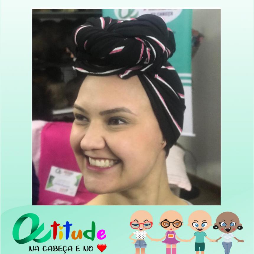 Ana Claudia, nossa linda voluntária